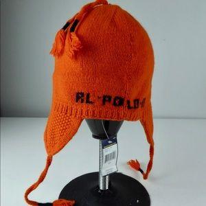 Polo by Ralph Lauren Accessories - Polo Ralph Lauren Tassels Knit Big Pony Wool Hat